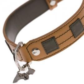 Bentley Tan Dog Collar