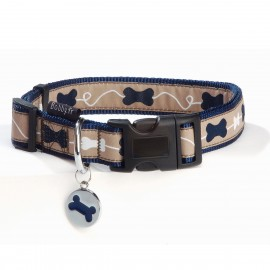 Kyrielle Blue Dog Collar