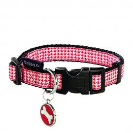 Bobby Prestige Nylon Dog Collars in Red