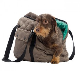 Bobby Promenade Dog and Cat Carrier Bag in Brown