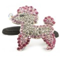 Hamish McBeth Poodle Pink Hairband