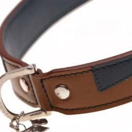 Aflie Tan Dog Collar