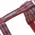 Hamish McBeth Tartan Purple Harness and Lead Set