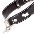 Hamish Black Dog Collar
