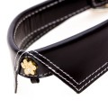 Saville Row Black Dog Collar