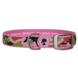 Dublin Dog All Style No Stink Waterproof Dog Collar Camo Couture Downtown Diva