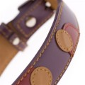 Monty Purple Dog Collar