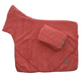 Dog Towel Set - Red