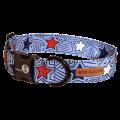 Dublin Dog Americana Starpop Eco Lucks Dog Collar