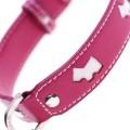 Hamish Pink Dog Collar