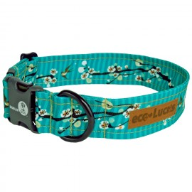 Dublin Dog Cherry Blossom Hong Kong Seas Eco Lucks Dog Collar