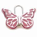 Hamish McBeth Butterfly Silver Dog ID Tag