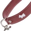 Hamish Red Dog Collar