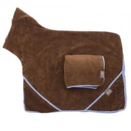 Dog Towel Set - Brown