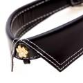 Saville Row Black Dog Collar
