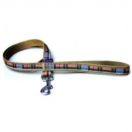 Bobby British Collection Nylon Dog Lead in Beige